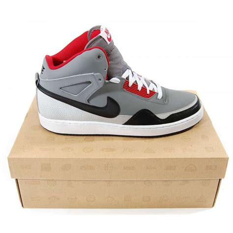 cool nike shoes nike alphaballer mid cool grey mens shoes from attic