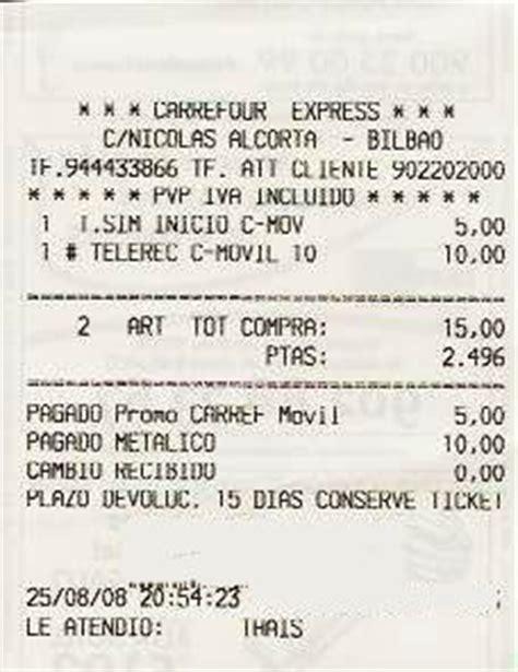 ejemplo de ticket de compra definici 243 n de ticket 187 concepto en definici 243 n abc