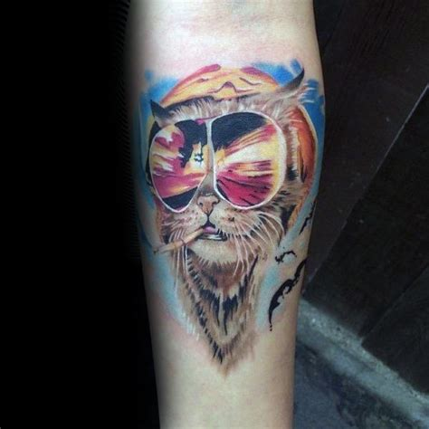 hunter s thompson tattoo designs 70 s thompson designs for fear and