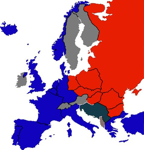 countries in the iron curtain europeans think us army liberated continent during ww2