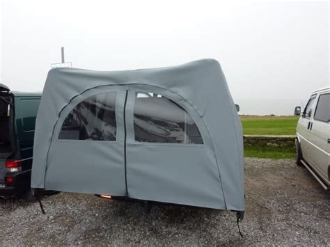 van rear door awning rear canopy awnining over barn doors page 4 vw t4
