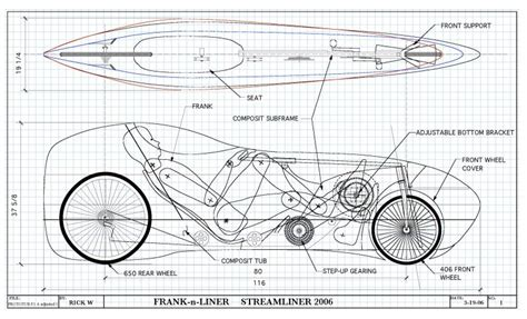 recumbent bicycle  human powered vehicle