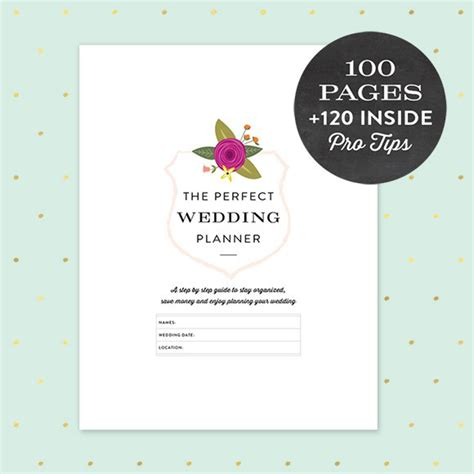 Wedding Budget For 120 Guests by Printable Wedding Planner Pdf