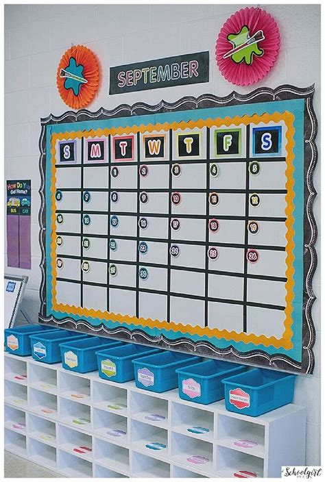 How To Learn Decoration by 25 Best Ideas About Classroom Calendar On