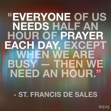 busy bored for prayer a 7 day challenge to reconnect with god and a friend books st francis de sales