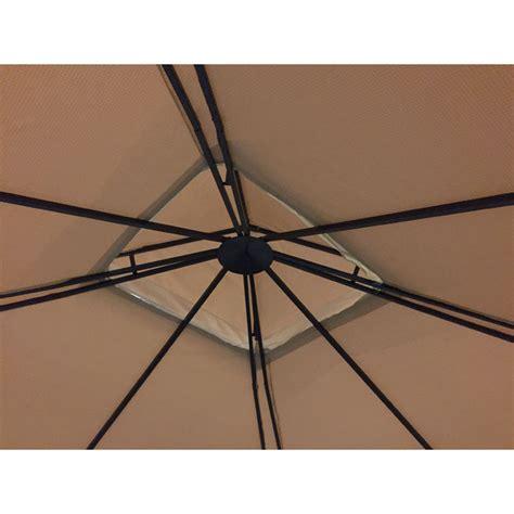 gazebo audio replacement canopy for grand resort audio gazebo riplock