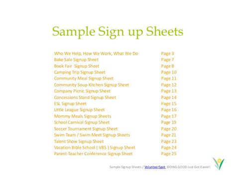 sle sign up sheet template make free and easy calendar sign up sheets