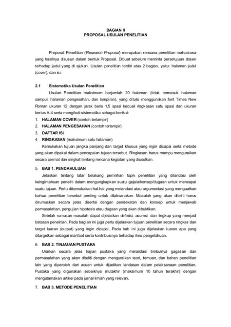 format proposal metodologi penelitian proposal usulan penelitian amikom