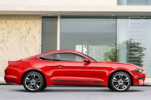 2018 ford mustang 2 3 ecoboost specs 2018 ford mustang offers pony package motor trend
