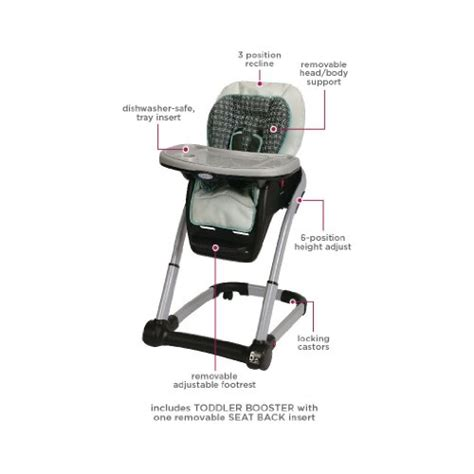 graco blossom 4 in 1 seating system graco blossom 4 in 1 convertible high chair seating system