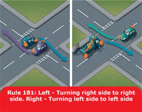 st on right or left using the road 159 to 203 gov uk