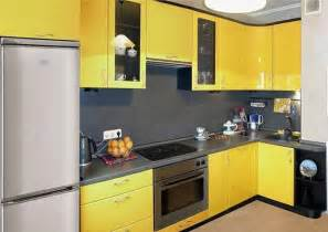 Furniture For Small Kitchens Small Kitchen Remodeling Ideas Accentuated With Yellow Color