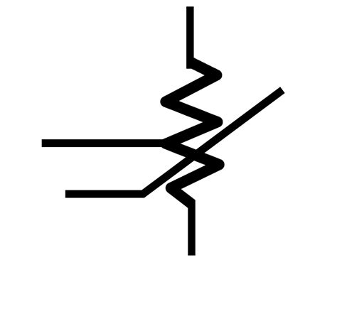 resistors symbol resistor symbol with white back ground clipart best