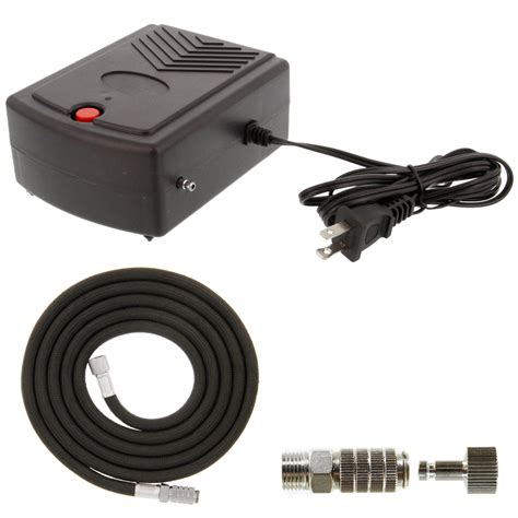 portable mini airbrush air compressor kit set hose makeup cake nail hobby 844998055211 ebay