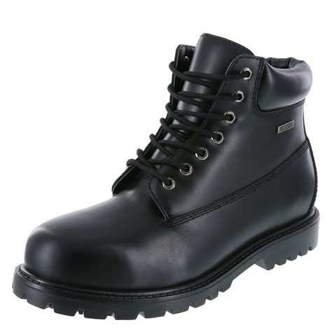 steel toe boots safetstep slip resistant s toe boot payless
