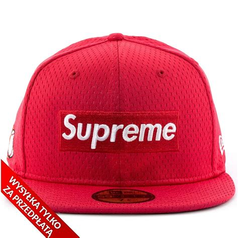 Supreme Cap by Supreme Cap Fitted Mesh Box Logo New Era 59fifty