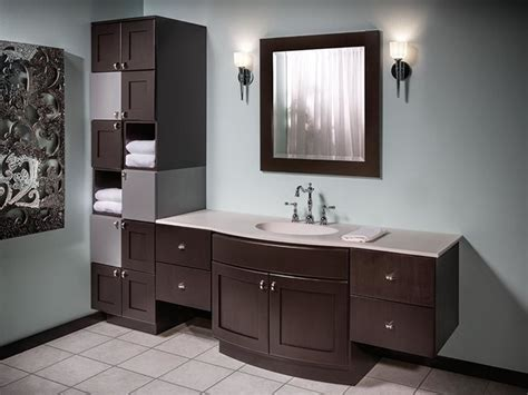 Modern Bathroom Cabinetry Bertch Custom Size Bath Cabinetry Osage Modern Bathroom Cabinets And Shelves Boston By