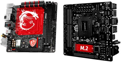 best itx motherboard 2014 msi unveils mini itx z97 mainboard with 802 11ac killer wi
