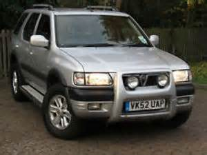 Vauxhall Frontera Mpg Vauxhall Frontera Px Reduced To Clear Vauxhall Frontera