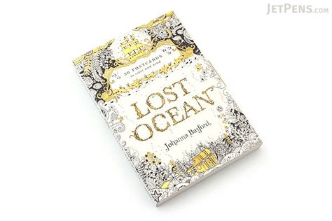 lost ocean postcard edition lost ocean postcards basford set of 36 jetpens com