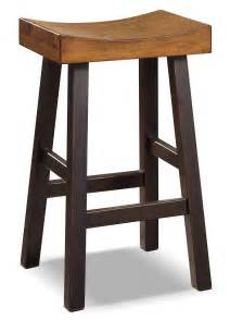 glosco 30 quot saddle seat bar stool the brick