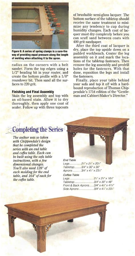 build a sofa table sofa table plans woodarchivist