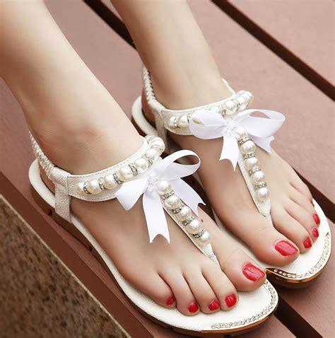 Free Shipping Women Sandals 2017 flip flop rhinestone