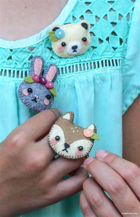 mini felt animal hair accessories hair accessories