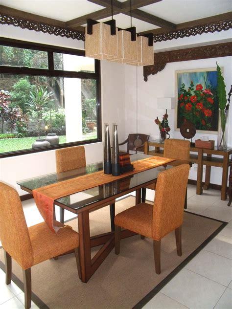 balinese inspired dining room  rvr interior design