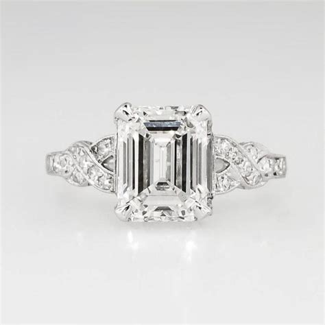 sensational certified 1930 s deco 2 90ct t w