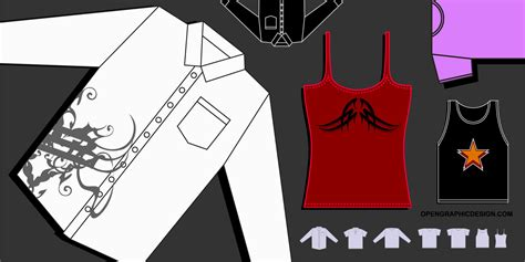 vector clothing templates vector t shirt graphics free clothing graphics in eps