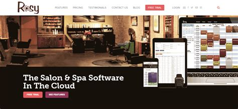 Rosy Pricing Reviews Alternatives And Competitor In 2018 Rosy Salon Software Templates