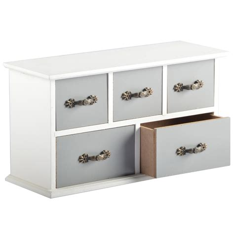 Mini Chest Of Drawers by 5 Colors Mini Chest Of Drawers Metal Handles 5 Wood