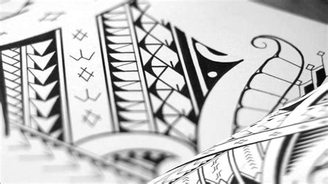 mixed tribal tattoo designs mixed tribal with and maori patterns