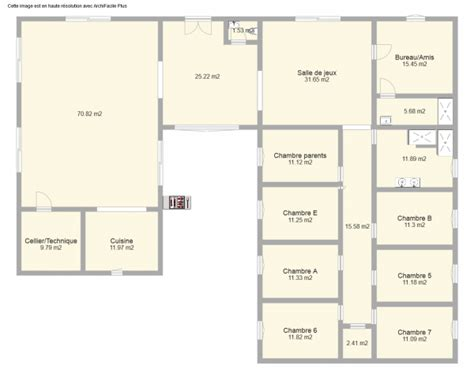 Maison Famille Nombreuse plan maison famille nombreuse