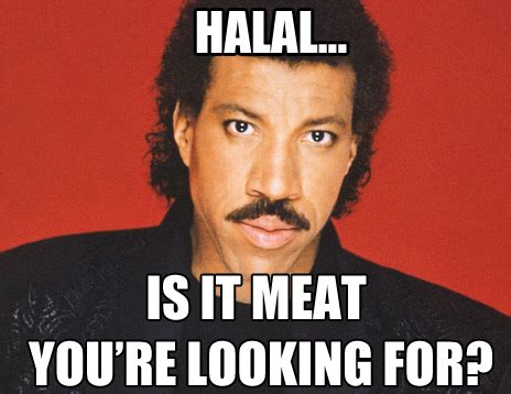Lionel Richie Meme - this company makes chicken bacon how did they get past
