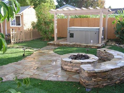 Landscape Backyard Ideas Cool Backyard Landscaping Before And After For Diy Loversiq