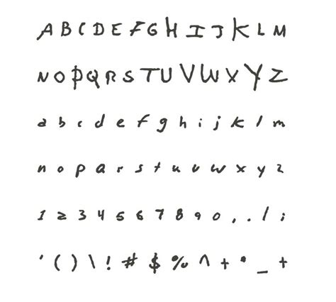 david bowie font you can download david bowie and kurt cobain s handwriting