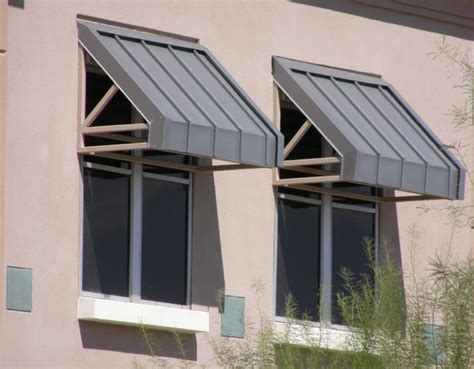Steel Window Awnings by Commercial Steel Awnings