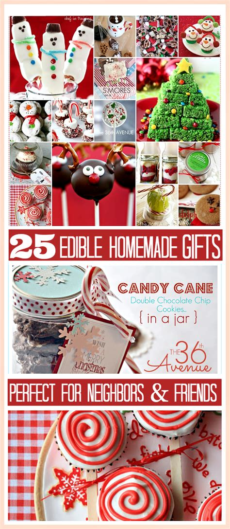 Edible Gifts - 25 edible gifts the 36th avenue