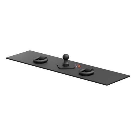 Trailer Hitch Flat Rack by Curt Manufacturing 65500 Gooseneck Hitch Flat Hitch Plate