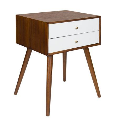 side table with drawers walmart hometrends vintage 2 drawer side table walmart canada