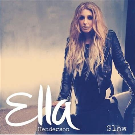Single Cover Ella Henderson Teases New Single Glow See The Cover