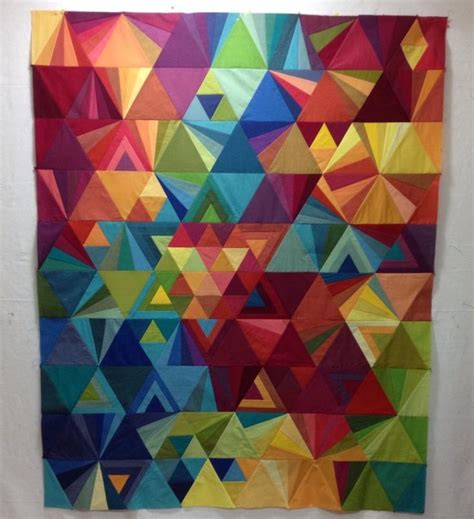 Triangle Patchwork Quilt Patterns - 2670 best images about patchwork quilt modern on