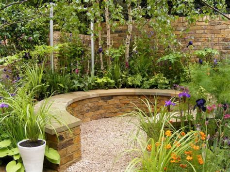 ideas for garden beautiful small garden ideas and designs stone bench stone