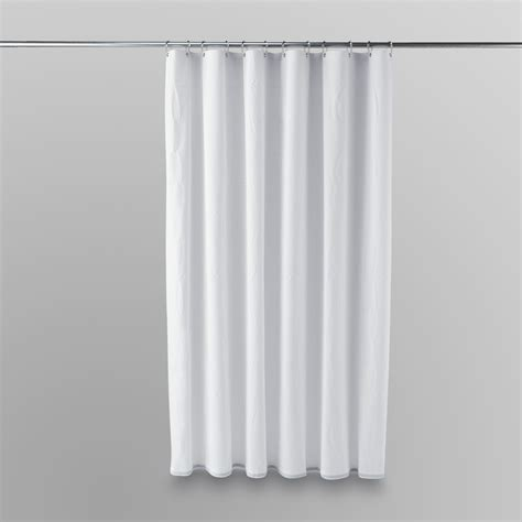 Kmart Bathroom Shower Curtains by Essential Home Shower Curtain Liner Home Bed Bath