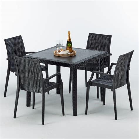 giardino rattan tavoli e sedie in rattan per esterni terredelgentile