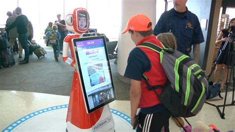 3 mobile customer service three customer service robots land in san jose airport