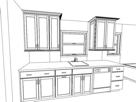coloring page of a kitchen dream kitchen coloring pages 16 photo gekimoe 77981