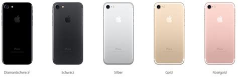 Iphone 7 Plus Polieren by Iphone 7 Und 7 Plus Alle Farben Im 220 Berblick Chip